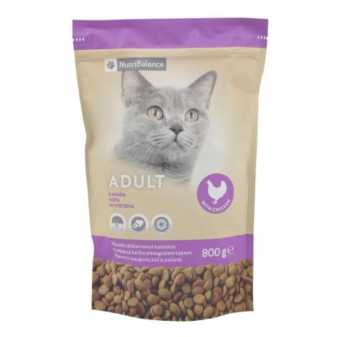 Kaķu barība Nutribalance no hairball 0,8kg