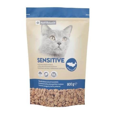 Kaķu barība Nutribalance Sensitive 0,8kg