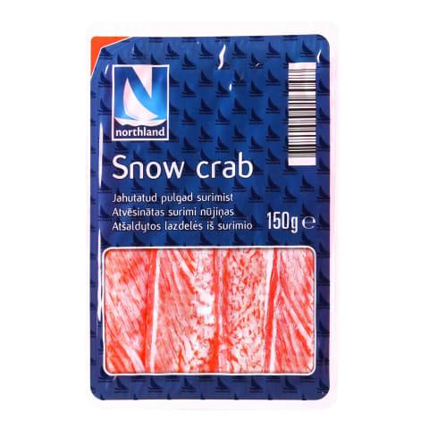 Surimi nūj.Northland sniega krabis 150g