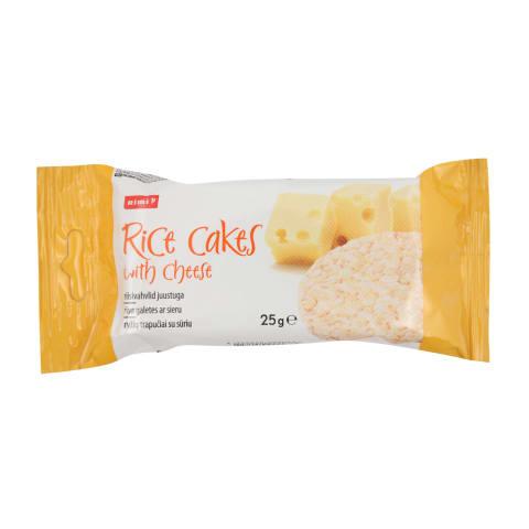 Rīsu galetes Rimi ar sieru 25g