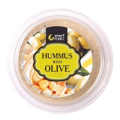 Hummus Rimi Planet oliividega 180g