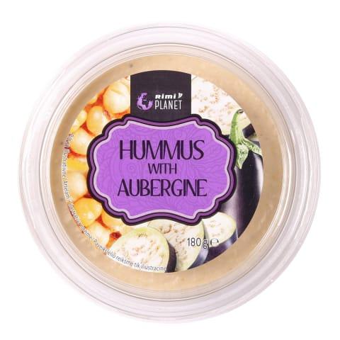 Hummus Rimi Planet baklažaaniga 180g