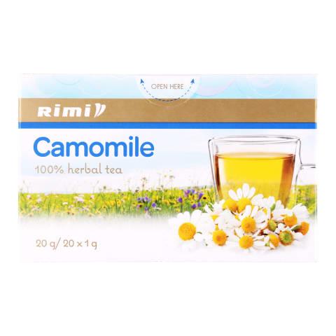 Ramunėlių arbata RIMI, 20x1 g