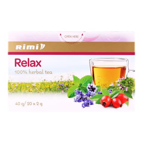Zāļu tēja Rimi Relax 20x2g