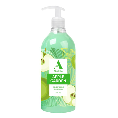 Dušo želė ALMEDA APPLE GARDEN 750ml