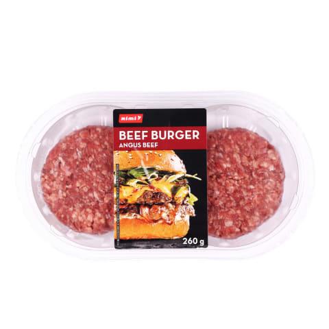 Liellopa burgera gaļa Angus Rimi 260g