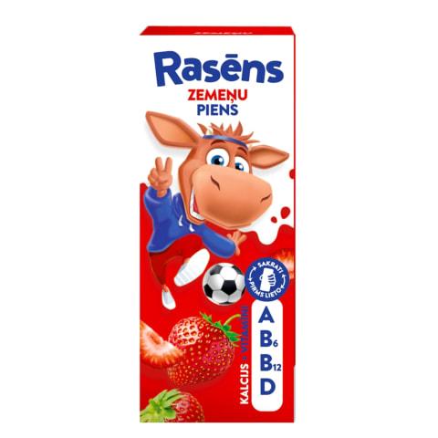 Piena dzēriens Rasēns zemeņu 1,5% 200ml