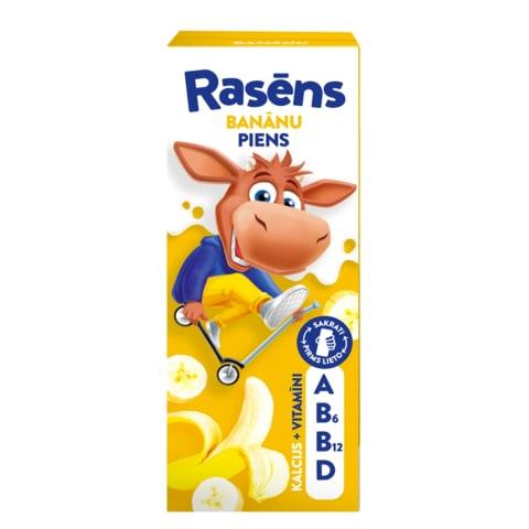 Piena dzēriens Rasēns banānu 1,5% 200ml