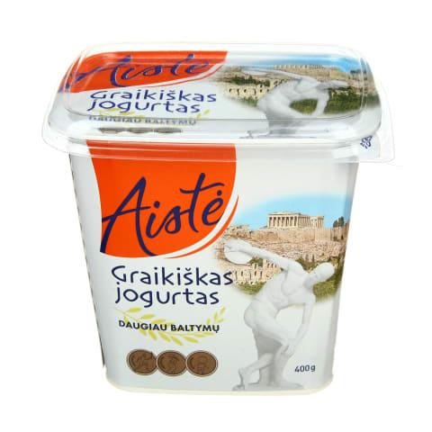Graikiškas jogurtas be priedų AISTĖ, 400g