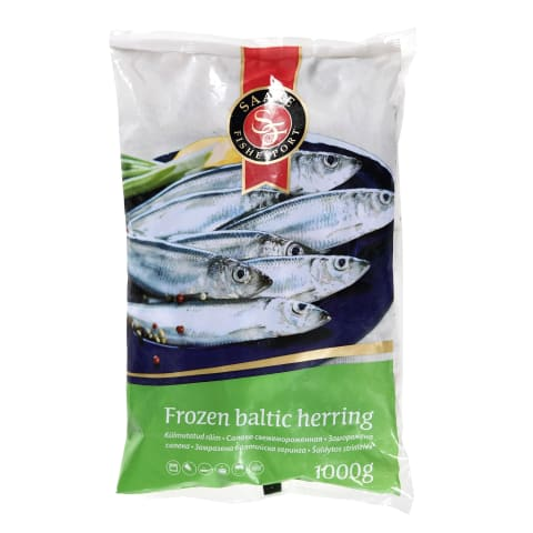 Šaldytos strimelės SAARE FISHEXPORT, 1 kg