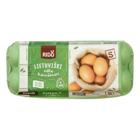 R. vištų kiaušiniai RIDO (vaik., S), 10 vnt.