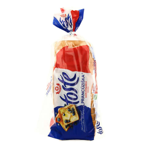 Prancūziška skrudinimo duona TOSTE, 500g