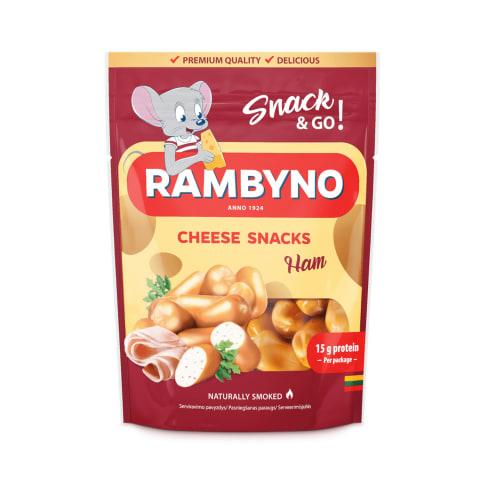 """Sūrio užkandis """"Rambyno"""" su kumpiu, 45% 75g"""