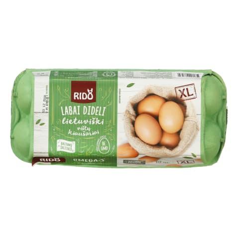 Kiaušiniai RIDO, 10 vnt., 730g