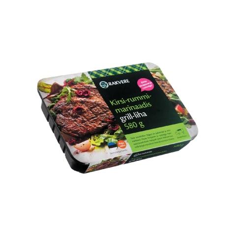 Kirsi-rummimarinaadis grill-liha 580g