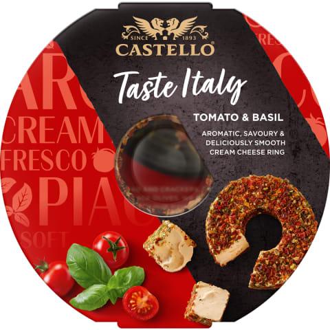 Kreminis sūris su pomidorais CASTELLO, 125g