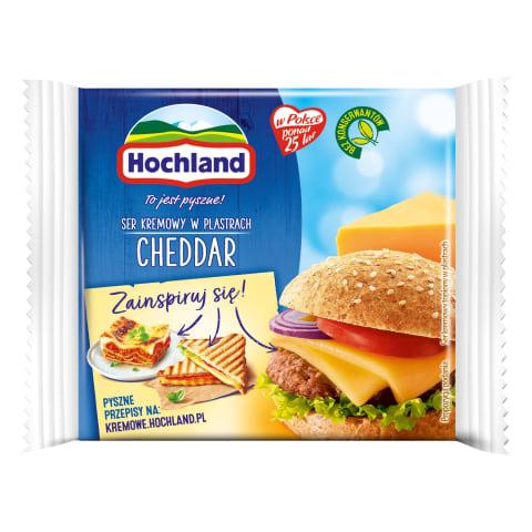 Lydytas pjaustytas sūris CHEDDAR, 130g