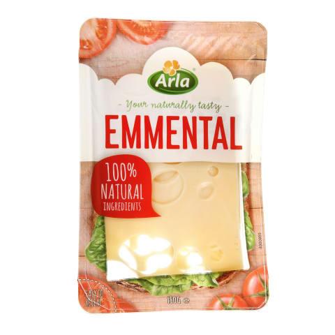 Pjaustytas sūris ARLA Emmental, 150g