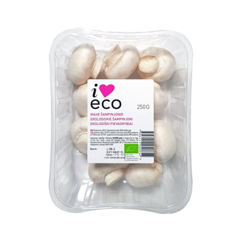 Šampinjonid mahe I love Eco 250g