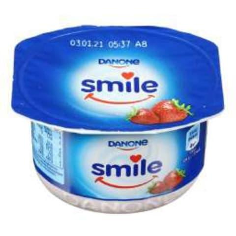 Jogurts Smile zemeņu 115g