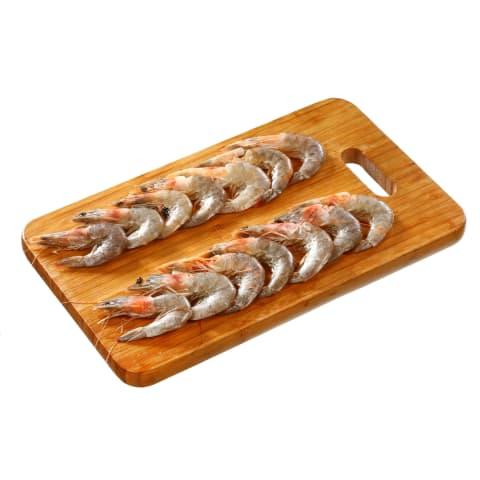 Atšild.baltak. blyškiosios krevetės RIMI, 1kg