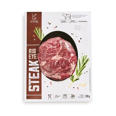 Liellopu gaļas steiks Rib Eye bez kaula 220g
