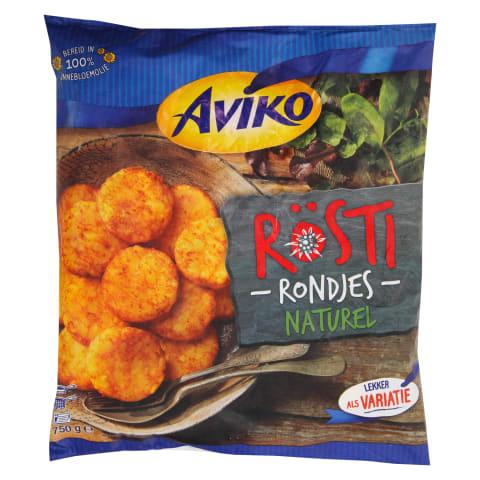 Kartupeļu pankūkas Aviko saldētas 750g