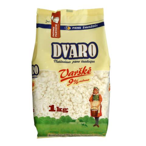 Varškė DVARO, 9 % rieb., 1 kg