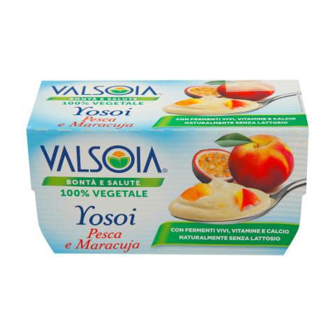 Sojas produkts Yosoi persiku, marakujas 250g