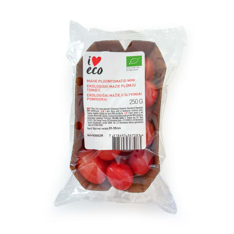 Tomāti I Love Eco plūmes mini 250g