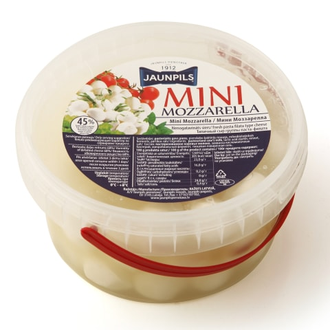 Siers Jaunpils Mini Mozzarella 300g