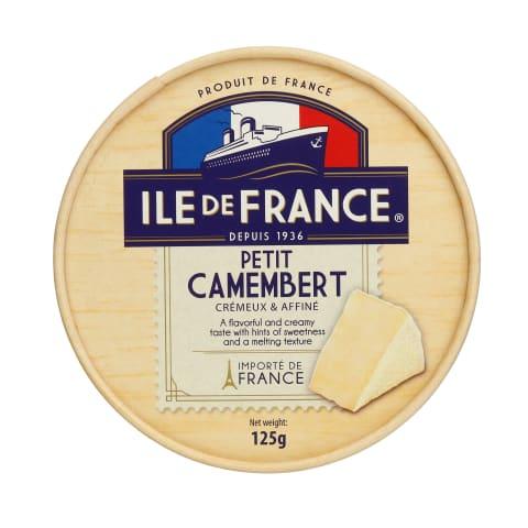 Sūris ILE DE FRANCE CAMEMBERT, 50%, 125g