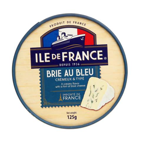 Sūris ILE DE FRANCE BRIE BLUE, 50%, 125g