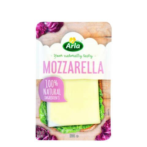 Siers mozzarella Arla šķēlītēs 150g