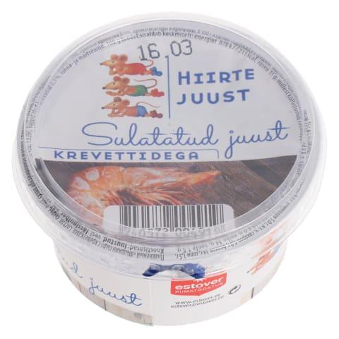 Sulatatud juust krevettidega Hiirte 200g