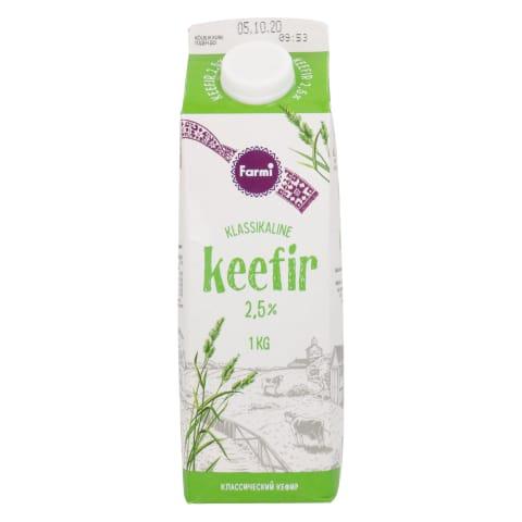 Keefir klassikaline Farmi pure 2,5% 1kg