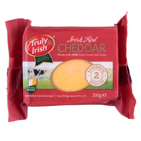 Airišk.raud.čed. sūris TRULY IRISH, 50%, 200g