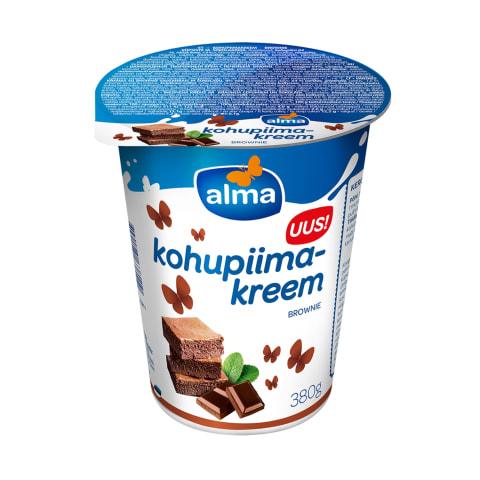 Kohupiimakreem brownie Alma 380g