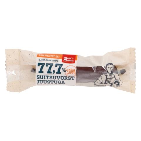 Suitsuvorst juustuga 77,7 300g