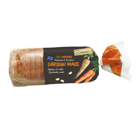Dārzeņu maize ar pastinaku un burkānu 450g