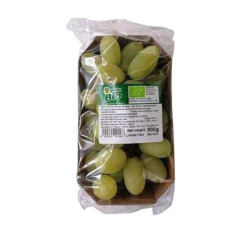 Ekologiškos žaliosios vynuogės, 500g