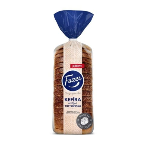 Tostermaize Fazer kefīra vērtīgā 450g