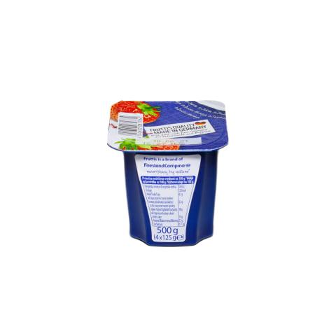 Jogurts Fruttis pers. marakujas, zemeņu 125g