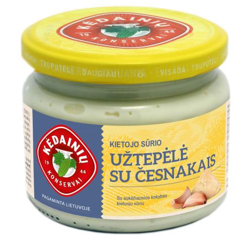 Kiet. sūrio užtepėlė su česnakais, 280 g