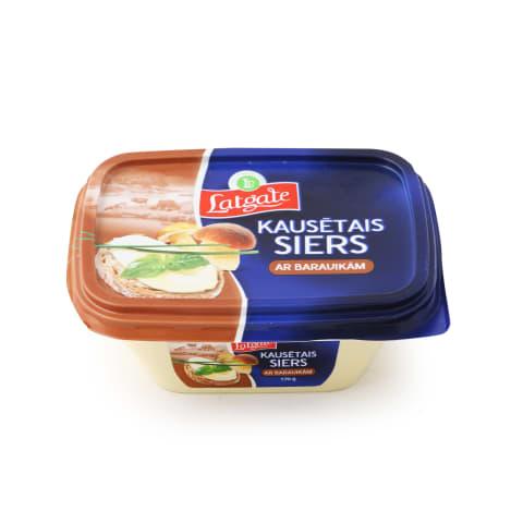 Kausētais siers ar baravikām 170g