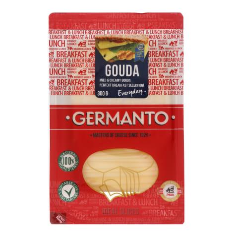 Sūris pjaustytas GERMANTO GOUDA, 300 g