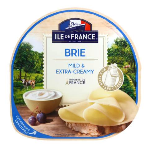 Sūris ILE DE FRANCE TRANCHES DE BRIE, 150g