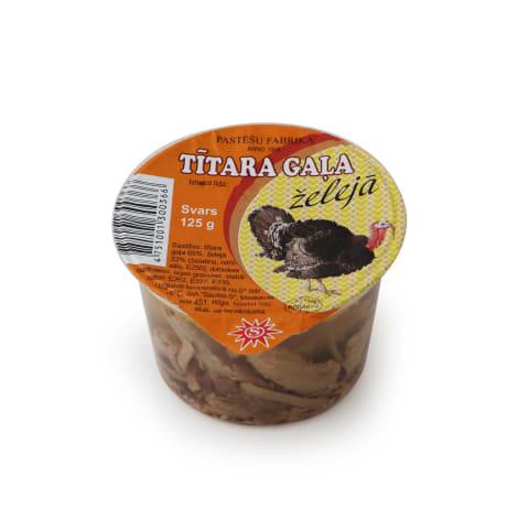 Tītara gaļa želejā 125g