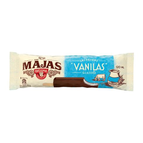 Saldējums Mājas vaniļas uz kociņa 120ml/78g