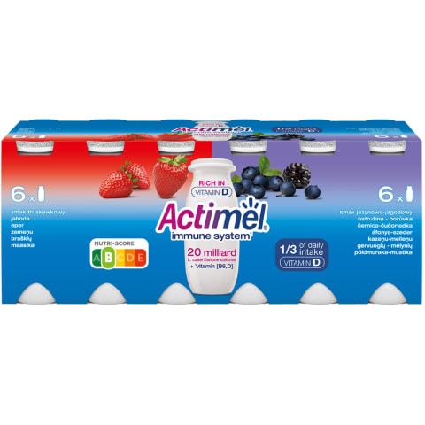Jogurta dzēriens Actimel zem. mell. 12x100g
